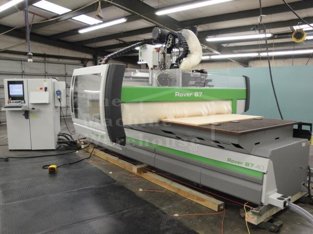 The Machine Warehouse :: Woodworking Equipment :: CNC - Router :: 2007-Biesse-Rover-B-7.40-FT ...