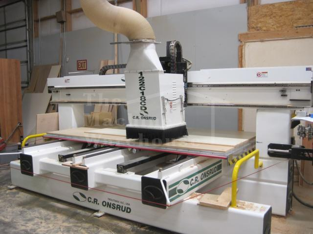 The Machine Warehouse Listing:  2007 CR Onsrud 122C18DC