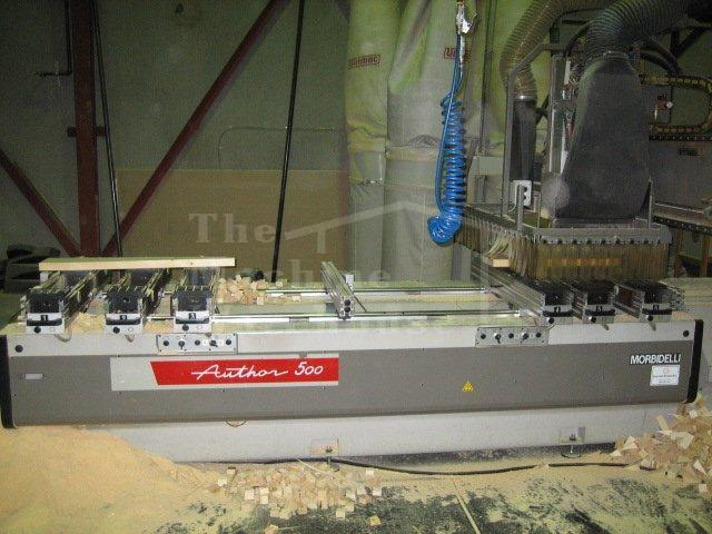 The Machine Warehouse Listing:  2002 Morbidelli Author 500