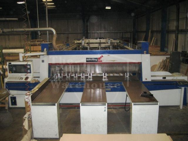 The Machine Warehouse Listing:  2003 Schelling FTH 330 Evolution
