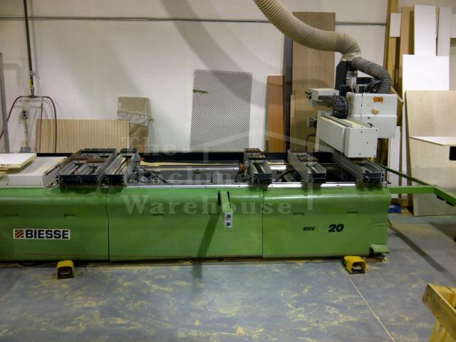 The Machine Warehouse Listing:  1999 Biesse Rover 20