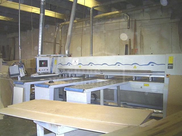 The Machine Warehouse Listing:  2004 Homag Sawtek Optimat CHF 325