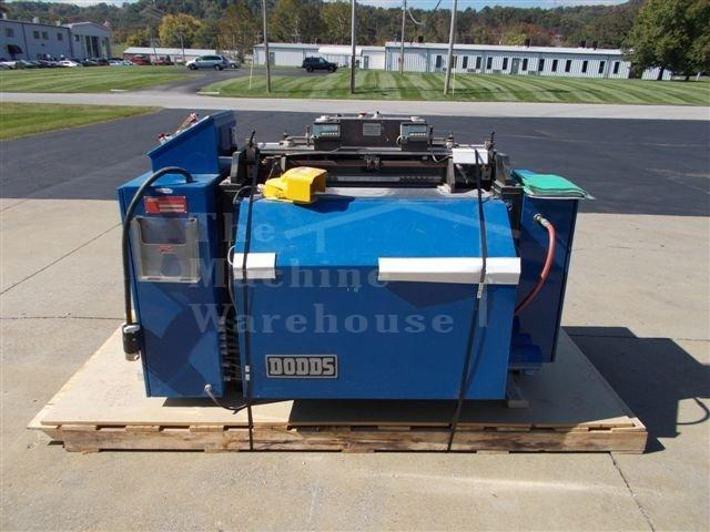 used dodds dovetail machine