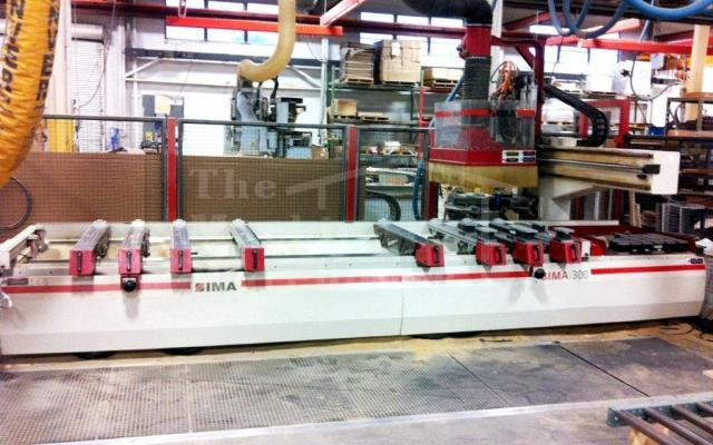 The Machine Warehouse Listing:  2007 IMA BIMA 300