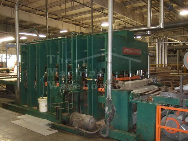 The Machine Warehouse Listing:  1976 Wemhoner KT-V-1E