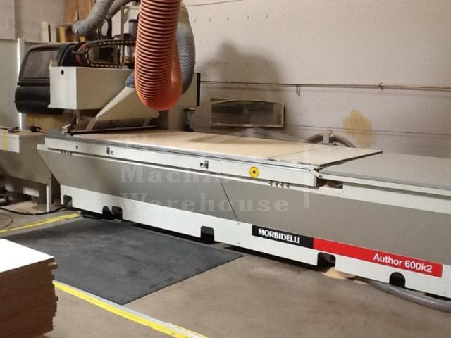 The Machine Warehouse Listing:  2003 Morbidelli Author 600 K2