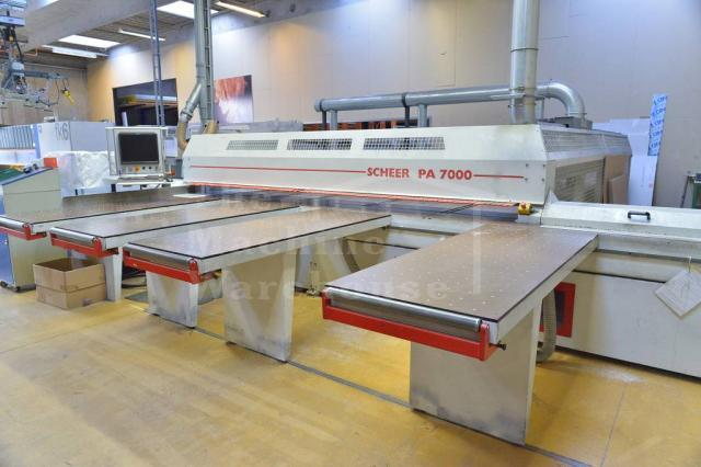 The Machine Warehouse Listing:  2004 Scheer PA 7000 P