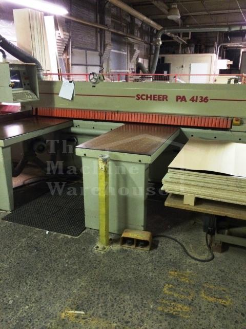The Machine Warehouse Listing:   Scheer PA 4136