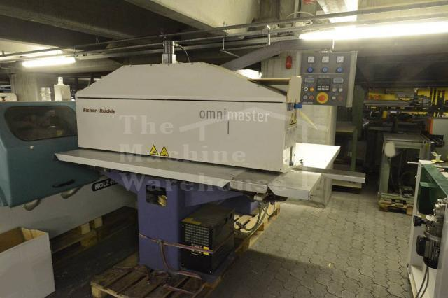The Machine Warehouse Listing:  2002 Fisher Ruckle Omnimaster