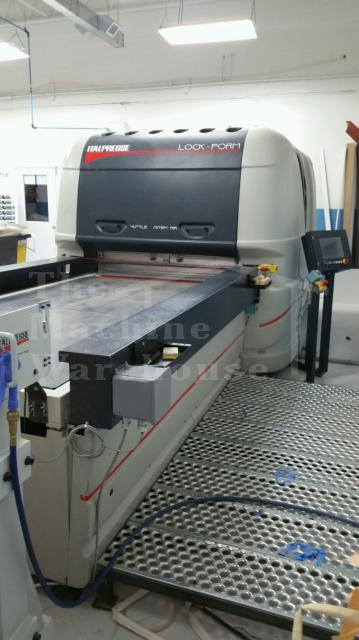The Machine Warehouse Listing:  2011 ItalPresse LockForm PSS